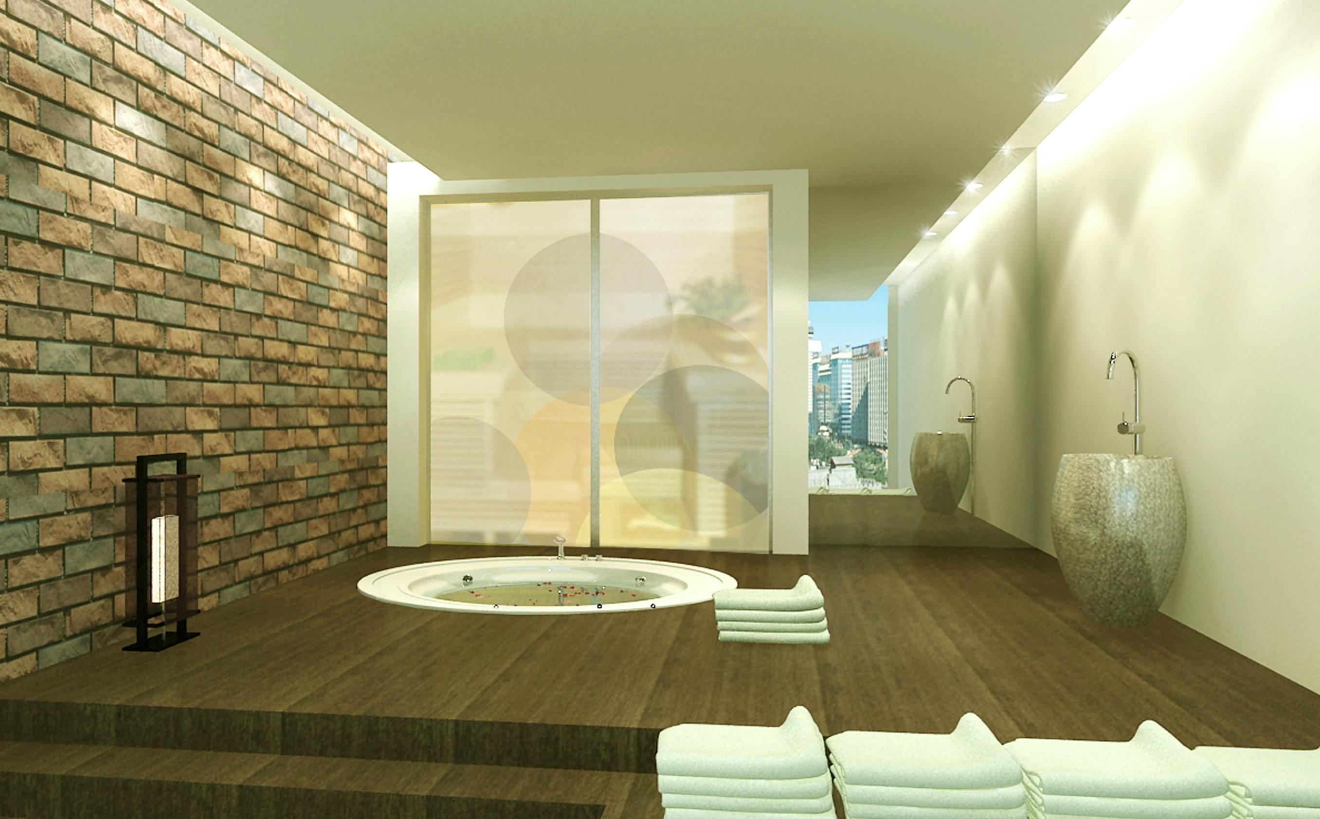 Bathroom For Orchard Villa Compound